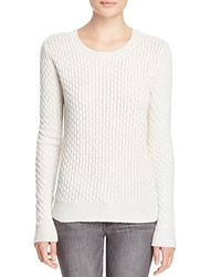 Paige Estelle Honeycomb Sweater 100 Bloomingdale's Exclusive Ivory