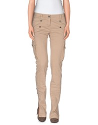 Richmond Denim Trousers Casual Trousers Women Beige