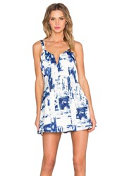 Style Stalker Dark Surf Dress White