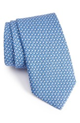 Vineyard Vines Men's Seashell Print Silk Tie