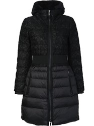 Zac Posen 'Juniper' Padded Coat Black