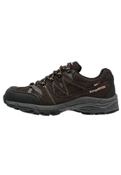 Kangaroos Outdoor Hiking Shoes Dark Brown Black