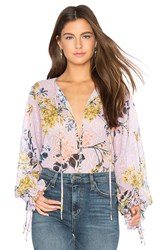 We Are Kindred Blossom Blouse Lavender