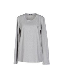 Liu Jo T Shirts Light Grey