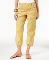 Styleandco. Style Co. Cropped Cargo Pants Only At Macy's Light Mango