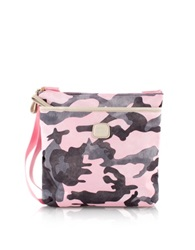 Bric's X Bag Pink Camouflage Crossbody Bag