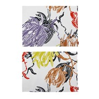 Missoni Home Protea Rectangular Placemat Set Of 2