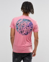 Friend Or Faux T Shirt Pink