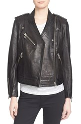 Women's Zadig And Voltaire Leather Moto Jacket