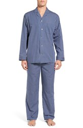 Nordstrom Men's Big And Tall Men's Shop Poplin Pajama Set