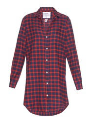 Frank And Eileen Mary Checked Flannel Shirtdress