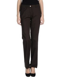 Caractere C24 Casual Pants Dark Brown
