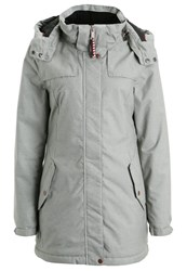 O'neill Timber Winter Coat Silver Melee Grey