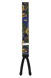 Men's Trafalgar 'Reef Madness' Silk Suspenders Limited Edition