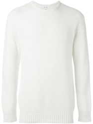 Soulland 'Ricketts' Honey Comb Sweater White