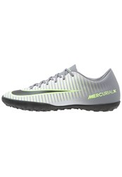 Nike Performance Mercurial Victory Vi Tf Astro Turf Trainers Pure Platinum Black Ghost Green Clear Jade Cool Grey