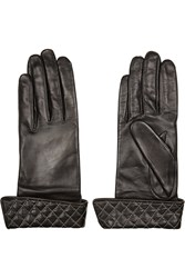 Agnelle Solange Quilted Leather Gloves