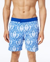 Tommy Hilfiger Men's Dunmore Vintage Board Shorts Dory Blue