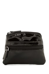 Mundi Zip Top Coin Pouch Black