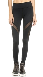 Michi Spiral Leggings Black