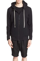 Drifter Men's 'Niko' Full Zip Hoodie Black