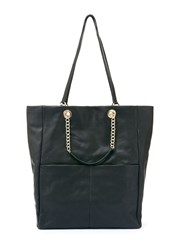Mint Velvet Black Cara Patch Pocket Shopper Black