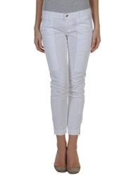 Dandg D And G Casual Pants White