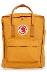 Fjall Raven Fj Llr Ven 'K Nken' Water Resistant Backpack Yellow Ochre