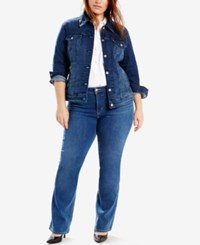 Levi's Plus Size Trucker Denim Jacket Blue Spring