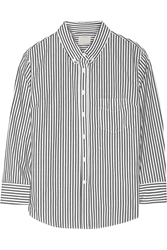 Band Of Outsiders Striped Cotton Shirt