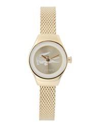 Lacoste Timepieces Wrist Watches Women Gold
