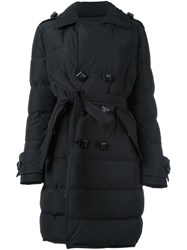 Dsquared2 Padded Block Fastening Coat Black