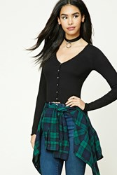 Forever 21 Ruffled Crop Top