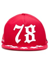 Philipp Plein 'Seventy Eight' Cap Red