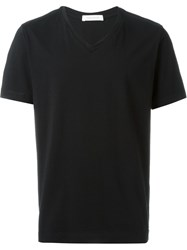 Pierre Balmain V Neck T Shirt Black