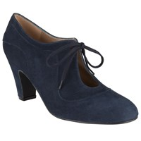 John Lewis Xalao Lace Up Suede Shoe Boots Navy