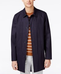 Tommy Hilfiger Men's Foley Raincoat New Blue