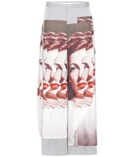Undercover Printed Trousers Grey