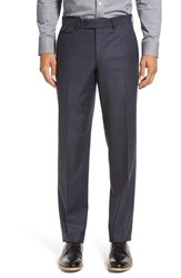 Ted Baker Men's London Columbus Flat Front Check Wool Trousers