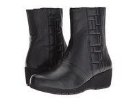 Aetrex Essence Jane Black Women's Zip Boots