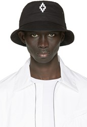 Marcelo Burlon Black Starter Edition Cruz Bucket Hat