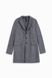 Harris Wharf London Speckled Cashmere Blazer Grey