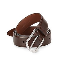 Brunello Cucinelli Leather Belt Brown