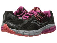 Saucony Lancer 2 Black Berry Coral Women's Running Shoes