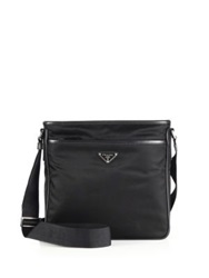 Prada Nylon Crossbody Bag Black