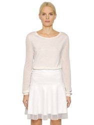 Callens Bateau Neck Cashmere Silk Knit Sweater