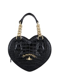 Vivienne Westwood Dorset Heart Embossed Faux Leather Bag