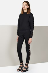 Opening Ceremony Cut Out Leggings Black