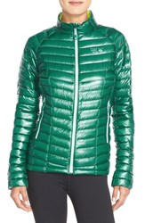 Women's Mountain Hardwear 'Ghost Whisperer' Quilted Down Jacket Teal Green Bolt