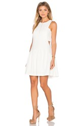 Endless Rose Woven Sleeveless Fit And Flare Dress Ivory